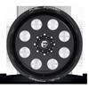 8 LUG FF31D 8 LUG SUPER SINGLE FRONT GLOSS BLACK & MILLED