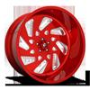 5 LUG FF40 - 5 LUG CANDY RED