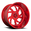 5 LUG FF51 - 5 LUG CANDY RED