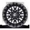 10 LUG FF55D - REAR GLOSS BLACK & MILLED