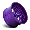5 LUG FF59 - 5 LUG CANDY PURPLE & MILLED