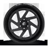 6 LUG FF65 GLOSS BLACK & MILLED