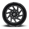 10 LUG FF65D - SUPER SINGLE FRONT GLOSS BLACK & MILLED