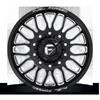 10 LUG FF66D - 10 LUG FRONT GLOSS BLACK & MILLED