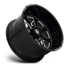 8 LUG FF78 GLOSS BLACK & MILLED