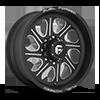 8 LUG FF79 MATTE BLACK & MILLED