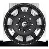 8 LUG FF82D - FRONT MATTE BLACK & MILLED