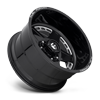 8 LUG FF96 GLOSS BLACK & MILLED
