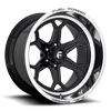 6 LUG FFC101 6 LUG | CONCAVE GLOSS BLACK W/ POLISHED LIP