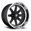 8 LUG FFC102 | CONCAVE GLOSS BLACK W/ POLISHED LIP
