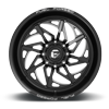8 LUG FFC106 GLOSS BLACK & MILLED