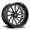 6 LUG FFC16 | CONCAVE 6 LUG GLOSS BLACK & MILLED
