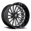 8 LUG FFC16 | CONCAVE GLOSS BLACK & MILLED
