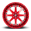 6 LUG FFC25 | CONCAVE SOFT CANDY RED & MILLED