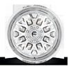 8 LUG FFC45 - 8 LUG | CONCAVE POLISHED W/ DODGER WALNUT BROWN METALLIC