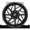 8 LUG FF51D | CONCAVE SUPER SINGLE FRONT MATTE BLACK & MILLED