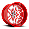 6 LUG FFC66 | CONCAVE CANDY RED