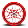 5 LUG FFC66 | CONCAVE CANDY RED