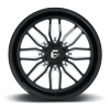 8 LUG FFC66 | CONCAVE GLOSS BLACK & MILLED