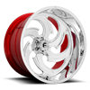 6 LUG FFC67 | CONCAVE POLISHED W/ CANDY RED INNER