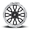 8 LUG FFC80 | CONCAVE GLOSS BLACK & BRUSHED