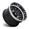 8 LUG FFC80 | CONCAVE GLOSS BLACK W/ POLISHED LIP