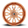 8 LUG FFC80 | CONCAVE ROSE GOLD & MILLED