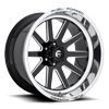 6 LUG FFC83 | CONCAVE GLOSS BLACK & MILLED