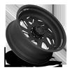 8 LUG FFS39D MATTE BLACK & MILLED