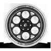 6 LUG FFS95 GLOSS BLACK & MILLED