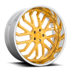 5 LUG FORKED - X125 CANDY GOLD