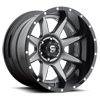 6 LUG RAMPAGE - D238 ANTHRACITE CENTER AND GLOSS BLACK LIP