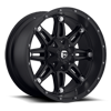 6 LUG HOSTAGE - D531 MATTE BLACK