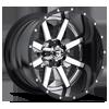 5 LUG MAVERICK - D260 CHROME WITH GLOSS BLACK LIP