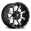 5 LUG NUTZ - D541 BLACK & MACHINED