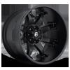 5 LUG OCTANE - D509 MATTE BLACK