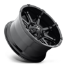 5 LUG COUPLER - D575 GLOSS BLACK