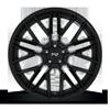 5 LUG GAMMA - M224 20X9 | GLOSSY BLACK