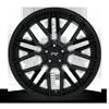 5 LUG GAMMA - M224 22X10.5 | GLOSSY BLACK