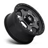 4 LUG GATLING - D640 15X7   ANTHRACITE W/ BLACK RING