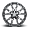 5 LUG GEMELLO - M220 GLOSS ANTHRACITE & MACHINED