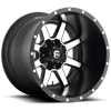 5 LUG MAVERICK - D537 MATTE BLACK & MACHINED FACE