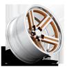 5 LUG IROC DEEP CONCAVE - U550 GOLD W/ POLISH