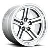 5 LUG IROC DEEP CONCAVE - U550 GLOSS BLACK W/ POLISH