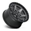 6 LUG KICKER 6 - D698 17X9 ET-12 | ANTHRACITE W/ BLACK LIP