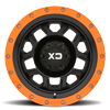 6 LUG XD132 RG2 SATIN BLACK W/ OPTIONAL SPEED ORANGE RING