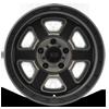 5 LUG XD133 FUSION OFF-ROAD SATIN BLACK MACHINED W/ DARK TINT CLEAR COAT