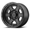 6 LUG XD133 FUSION OFF-ROAD SATIN BLACK