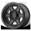 6 LUG XD133 FUSION OFF-ROAD SATIN BLACK