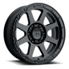 6 LUG XD134 ADDICT 2 MATTE BLACK